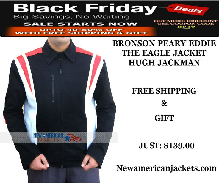 Bronson Peary Eddie the Eagle Olympic Jacket from our online store. Also this Blackfriday Sale With Free Shipping + Gigf!!  #EddietheEagle #Movie #HughJackman #Blackfriday #HappyThanksGiving #Celebrities #Cosplay #Fashion #MenFashion #geek #geektyrant #Hollywoodmovie #Onlinestore #MensWear #MensFashion #MensOutfit #MensJackets