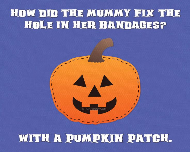 puns with halloween