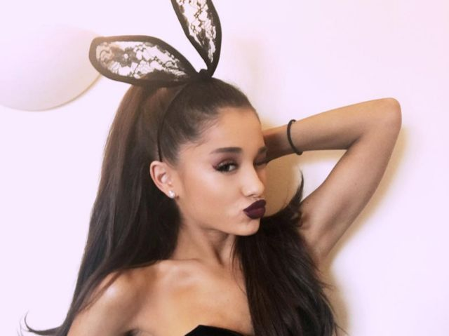 I got: Lace Bunny Ears! Which Ariana Grande Performance Accessory Should You Wear?