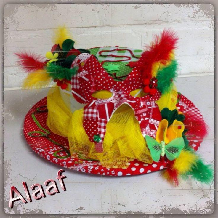 Workshop carnavals hoed maken!