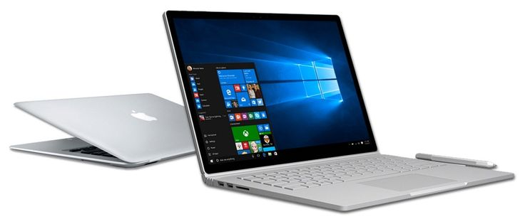 米Microsoft、「MacBook」から「Surface Book」への乗り換えを促進するサイトを公開