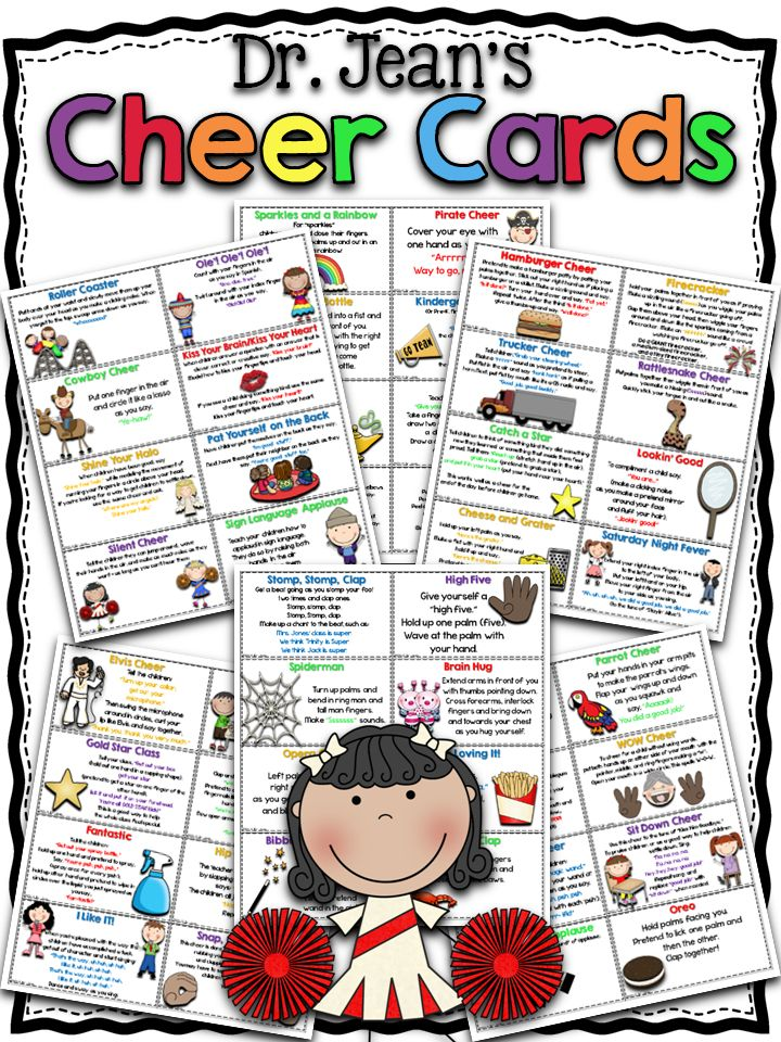 Dr. Jean Cheer Cards COMPLETELY FREE