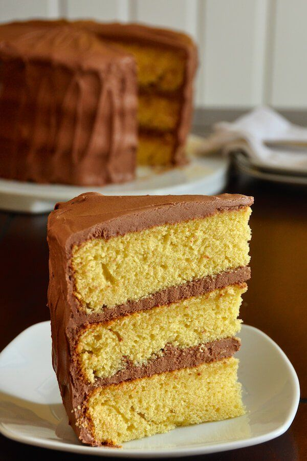 The Best Yellow Cake Recipe, Homemade from Scratch