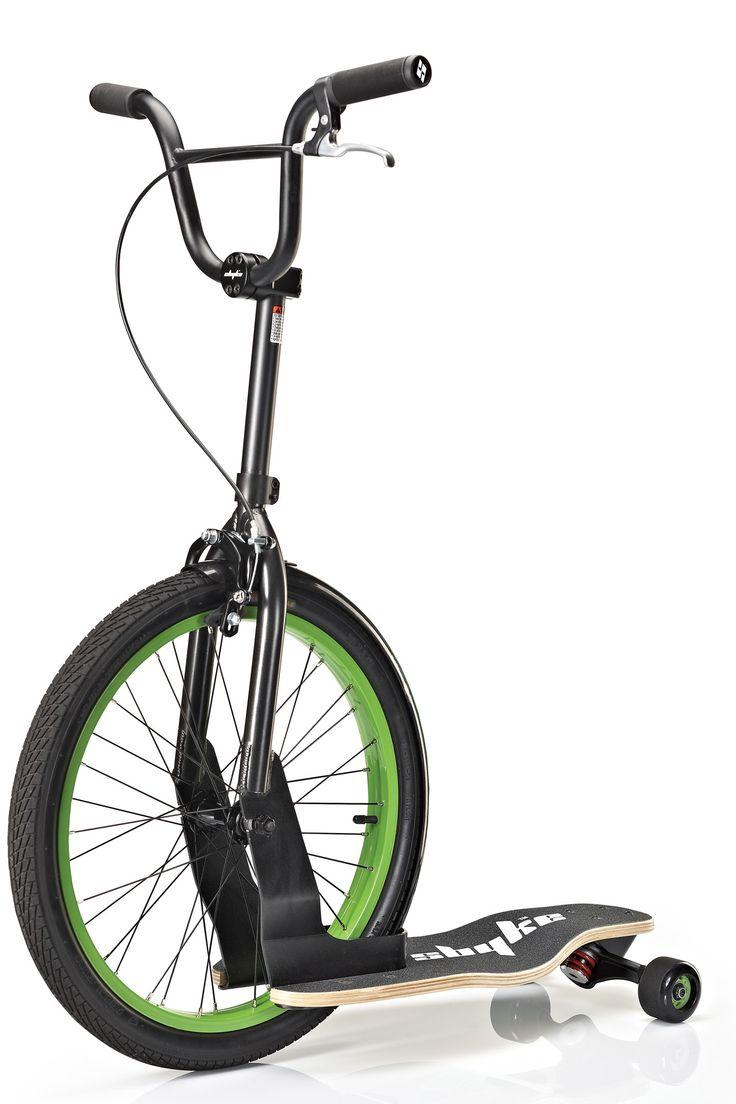 P20 Skateboard Bike Hybrid Kick Scooter