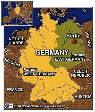divided germany after wwii - Google Search