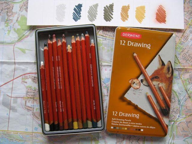 Цветные карандаши. Часть 4: масляные и всякие специфические: mercul