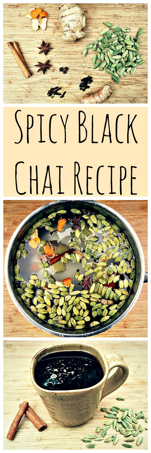 Homemade chai is the best, and it's super easy to make!