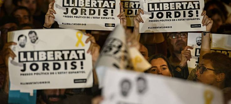 Nueva manifestación a la vista este sábado 11 de noviembre para los separatistas, para exigir la liberación de los funcionarios separatistas encarcelados. Tanto separatista ANC y asociacionesÒmniu…