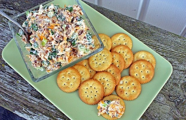 Neiman Marcus Dip- I'd use real bacon rather than jarred bacon bits.
