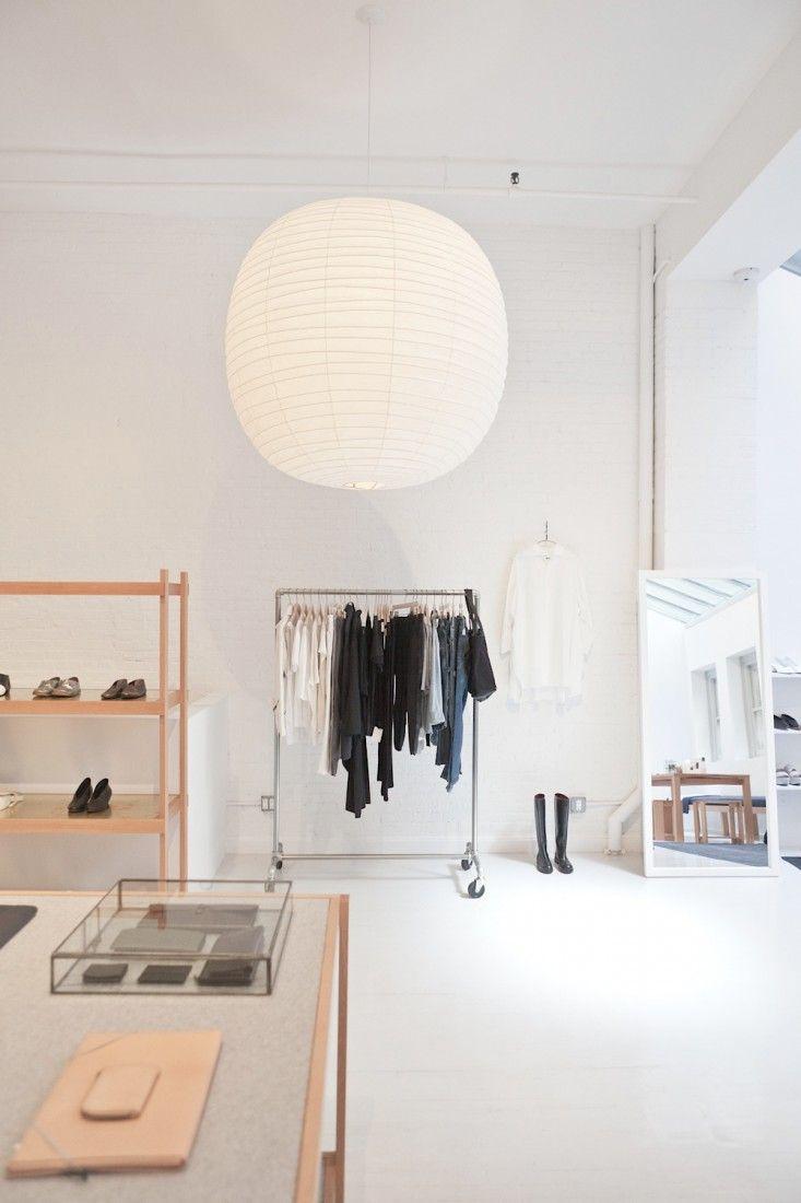 Noguchi ceiling lamp @LaGarçonneShop Designed by Solveig Fernlund, Photograph by Michael Muller