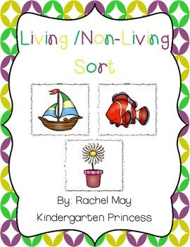 This is an all time freebie! This set is great to teach and reinforce living and non-living objects. This set includes 24 sorting cards. **Please leave feedback and follow my store.**