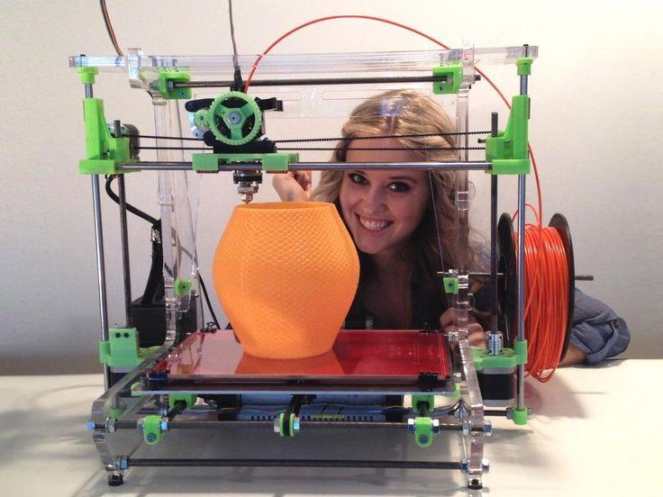 XL 3D printer by www.airwolf3d.com
