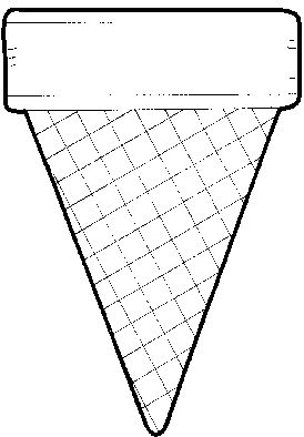 "Ice Cream Cone Template -- ""Our Class Comes in 15 Flavors"" Bulletin Board"