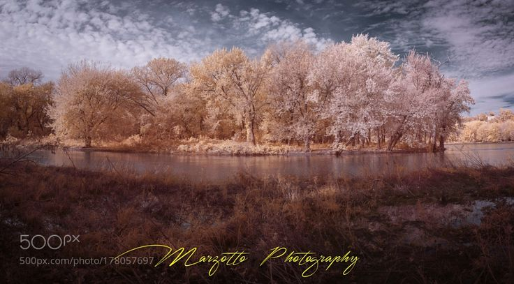 Panorama IR Mississipi River by michelemarzotto