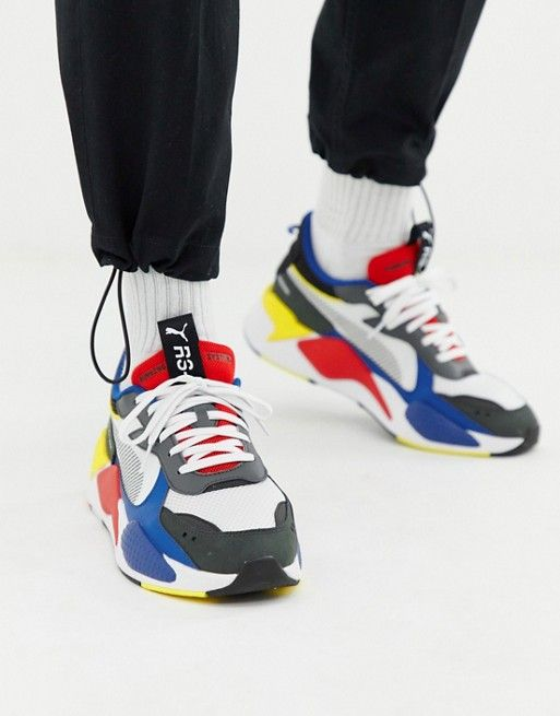 Puma RS X Toys sneakers in white | Check my shoes out. lol