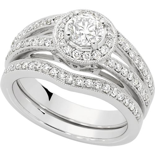 1.25 CARAT TW DIAMOND BRIDAL SET - Michael Hill Jewelers