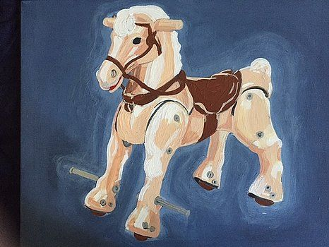 Marx Hobby Horse by Allison Mathews