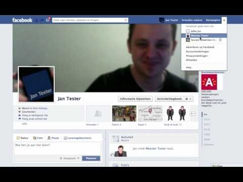 Gebruik een Facebookpagina om veilig contact te hebben met leerlingen op Facebook