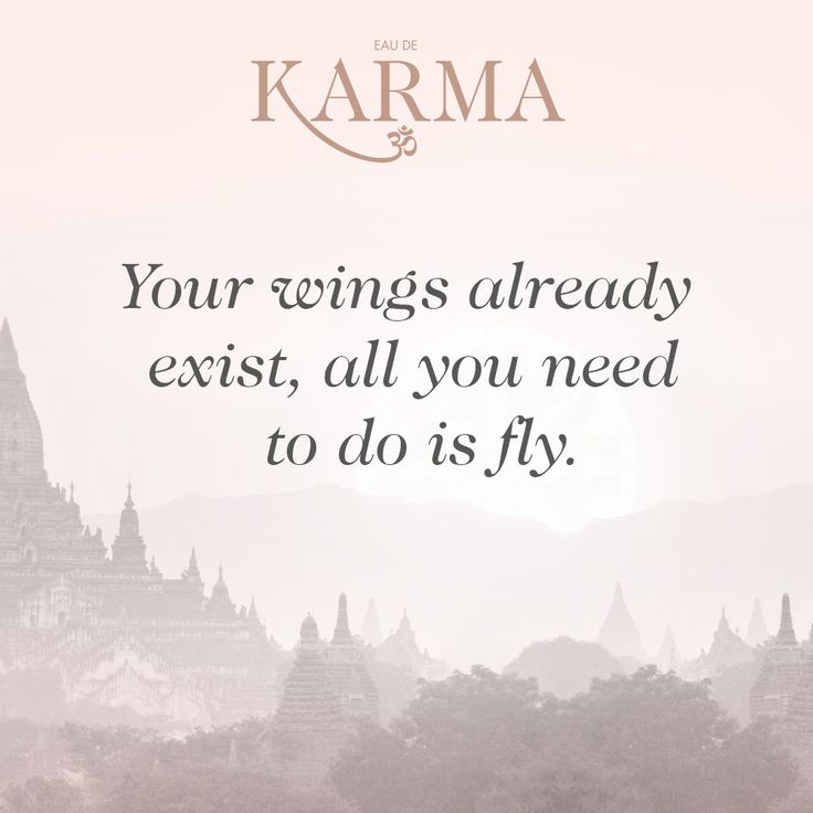 Your wings already exist, all you need to do is fly.   Inspirational quotes // #writethisdown #EauDeKarma