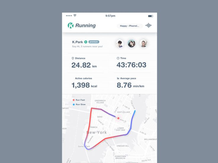 Case Study : Running App animation  Press L to like.  please don't forget to follow me!