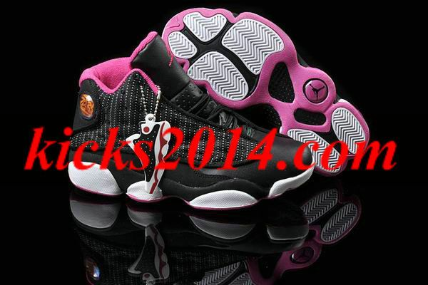 Womens Air Jordans 13 black pink [Womens Shoes 2014 1383] -  :  discount site. all Air Jordans Womens Some less than $50 womens jordans