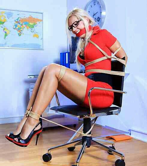 That Pantyhose pole tied