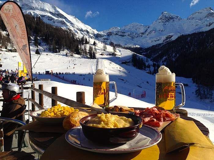 il #pranzo del perfetto #sciatore #EdelweissCrest