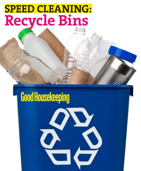Smelly Recycling Bins Here's how to keep on top of your recycling to avoid those nasty smells!  #cleaning #recycling