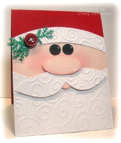 Santa Handmade Christmas Cards
