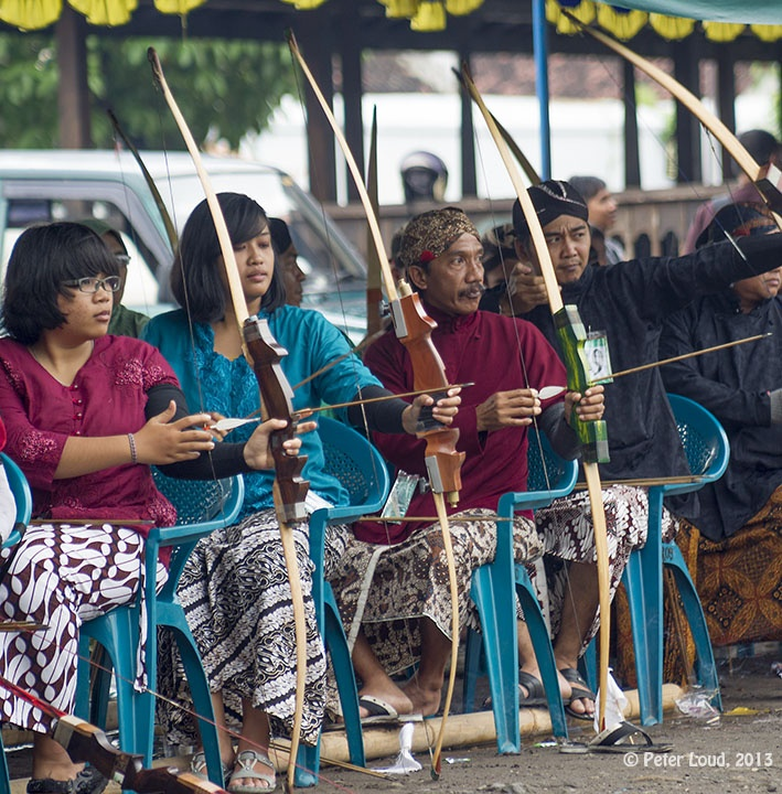 Archery, Kraton, Yogyakarta, Indonesia, 2013