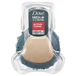 Dove Men+Care Dual Sided Shower Tool : Target