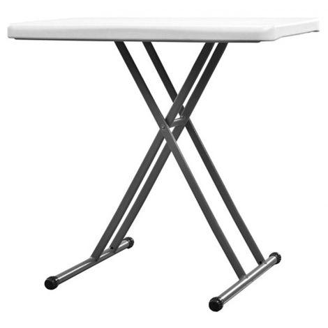 TABLE PLIANTE REGLABLE EN HAUTEUR X-UP