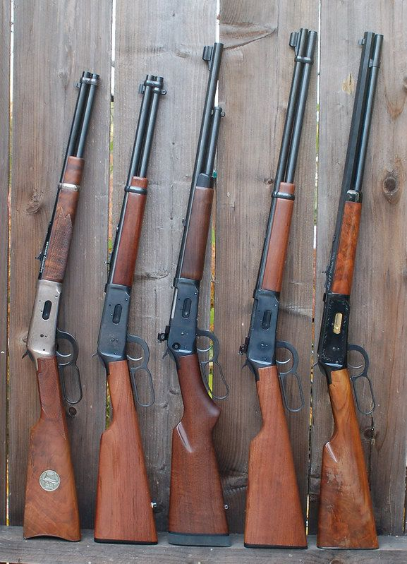 Winchester lever action, Mossberg lever action 30-30.