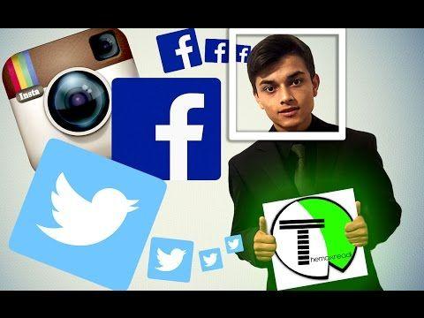 REDES SOCIALES - Themaxreadi - YouTube