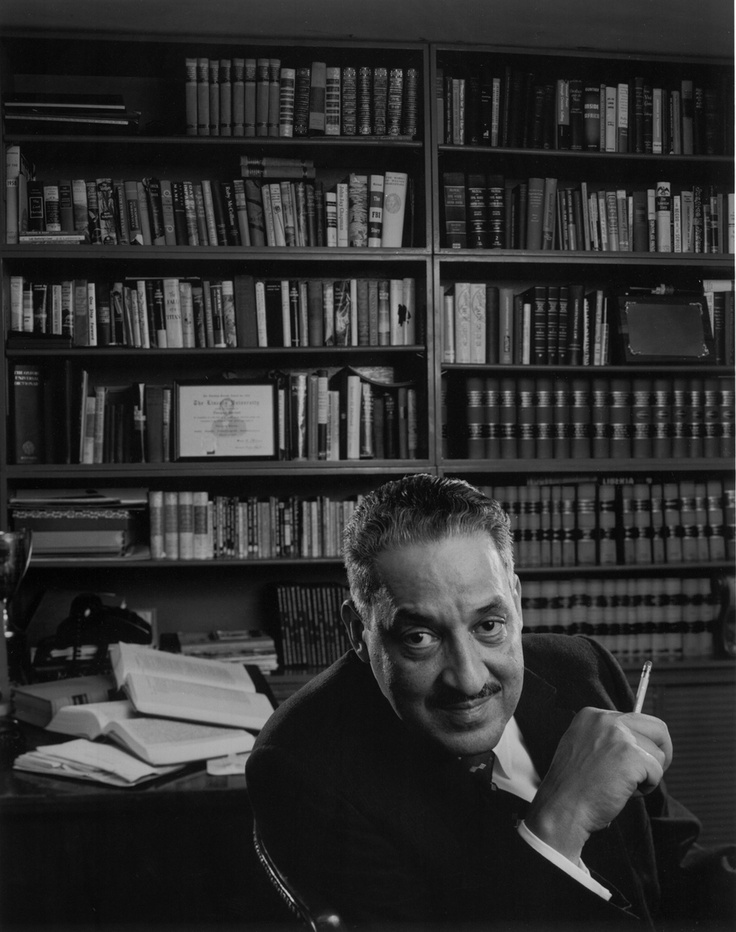 Attorney Thurgood Marshall in Harlem, 1960 — before he was nominated to be a Supreme Court justice   Arnold Newman