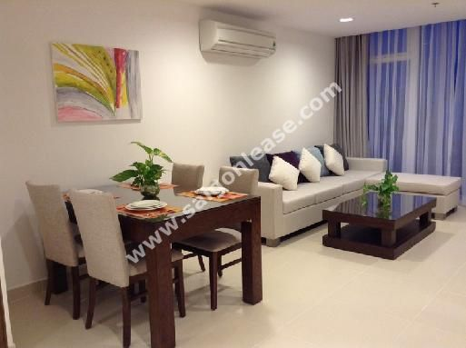Brand new serviced apartment in Thao Dien ward, district 2 for rent