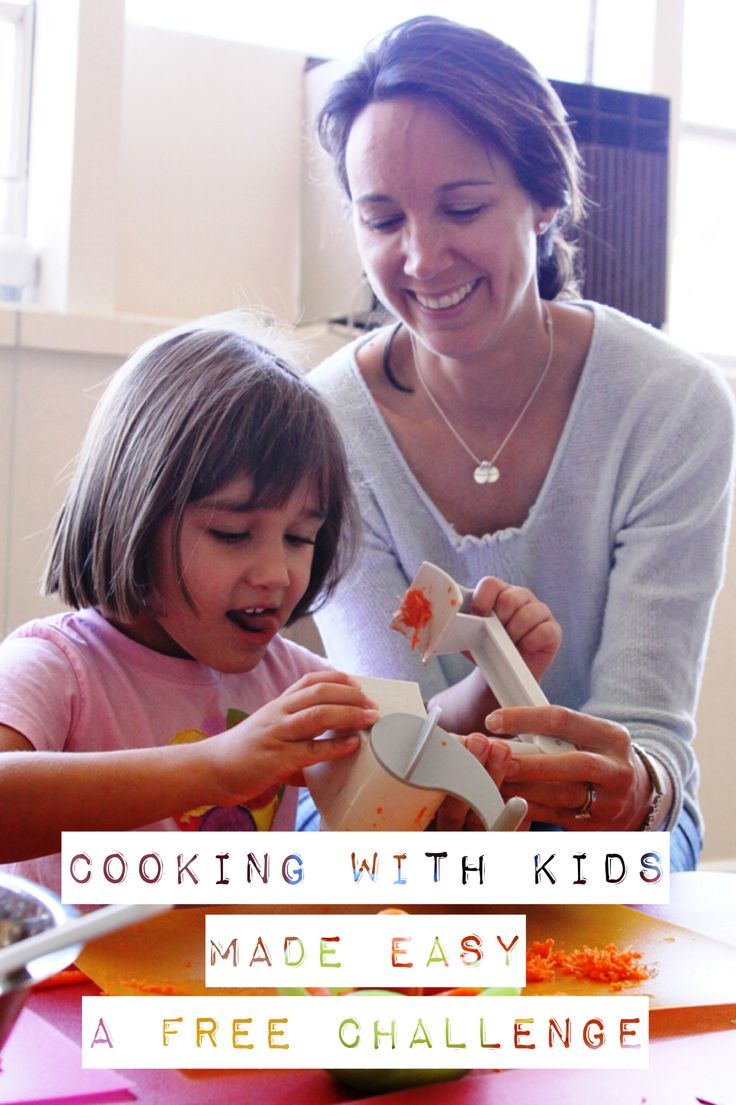Cooking with Kids Made Easy - a Free Challenge from What's Cooking with Kids, starting on November 1, 2016