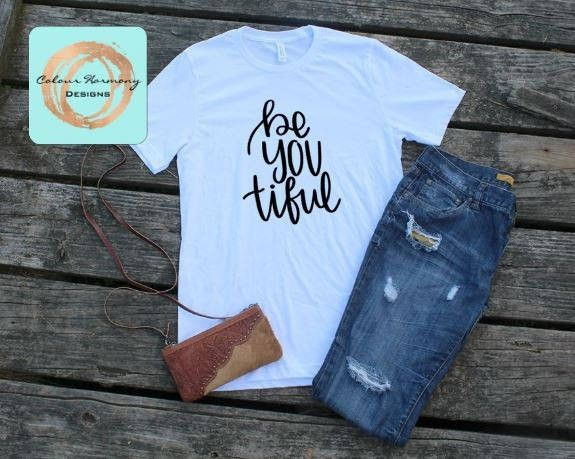 Excited to share the latest addition to my #etsy shop: BeYOUtiful - T-Shirt or Tank Top http://etsy.me/2yXUqDD
