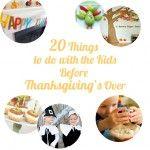 Thanksgiving Bucket List