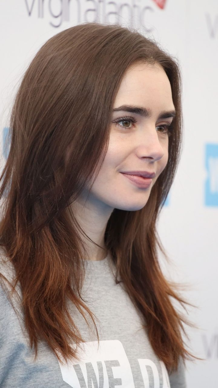 Actress Pretty Look Lily Collins 720x1280 Wallpaper Celebrity Wallpapers Lily Collins Blonde Celebrities