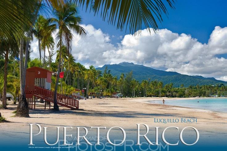 la playa de luquillo luquillo beach puerto rico. Black Bedroom Furniture Sets. Home Design Ideas