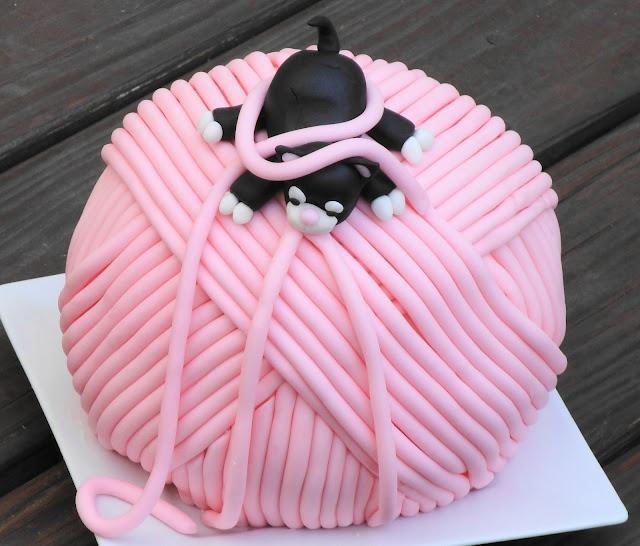 21 Best Yarn Cakes Images On Pinterest