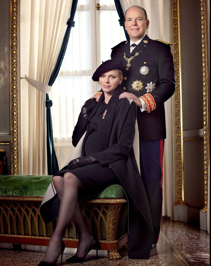 Prince Albert and Princess Charlene of Monaco photos - Paris Match - Monaco National Day 2014