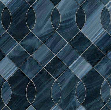 BeauMondeGlass_Mosaic_Vivian by Ann Sacks