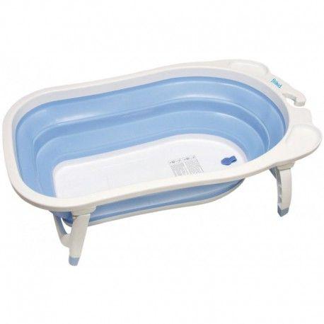 NWWW.ROALBABABY.ES BAÑERA PLEGABLE FILLIKID PRECIO:49,90€ Práctica bañera para bebés de 0 a 24 meses con material suave y plegado extra plano para transportar y guardar fácilmente.one