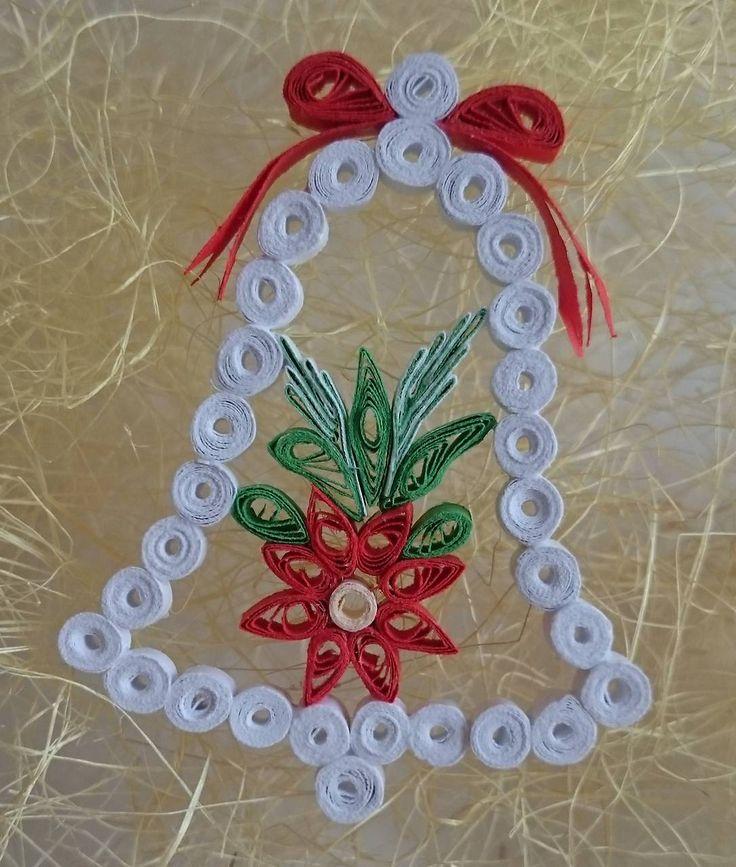 Dekorácie - Vianočný zvonček - 7424069_