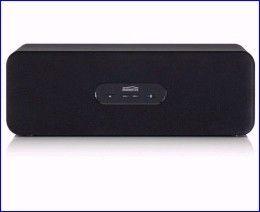 De BoomBoom 230 Bluetooth stereo luidspreker is draadloos te verbinden met uw iPad, iPhone, iPod en uw tablet-PC, smartphone en MP3-speler met stereo Bluetooth. De speciaal ontworpen houten klankkast zorgt voor een vol stereogeluid. Deze speaker is bovendien voorzien van een extra AUX-ingang om bijvoorbeeld een MP3-speler via een kabeltje aan te sluiten. http://www.vego.nl/marmitek_multimedia/marmitek_boomboom_230/marmitek_boomboom_230.htm