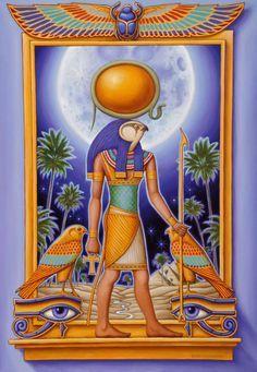 LA MITOLOGÍA EGIPCIA (VE-C68-1) : EL PODER DE LOS DIOSES EGIPCIOS