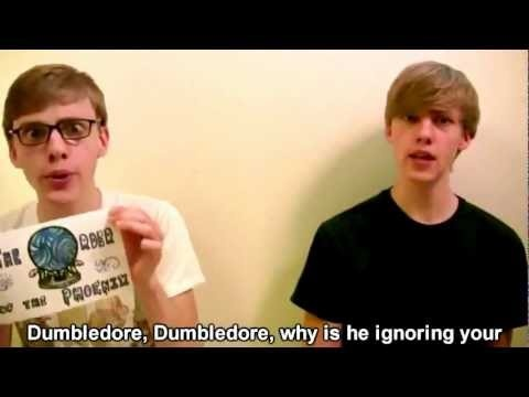 Harry Potter in 99 Seconds- This is so funny! You should probably watch it multiple times because you have to listen to the lyrics/read them, and you have to watch the guys faces! - Oh MyGoodness... This is hilarious! :) whether you're an HP fan or not this is great!