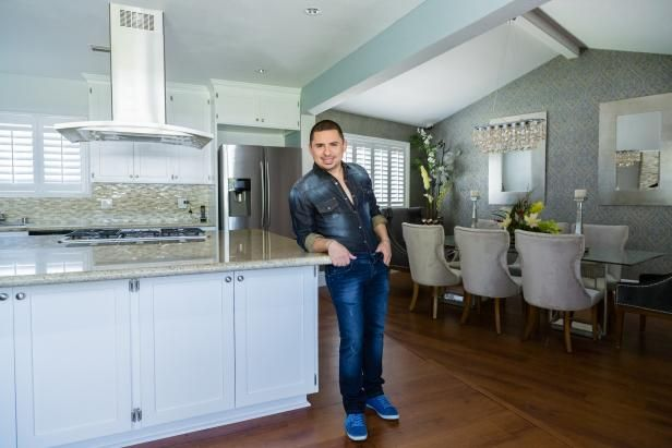 The interior design experts at HGTV.com take you on a tour of Latin music and TV star Larry Hernandez's Los Angeles home.